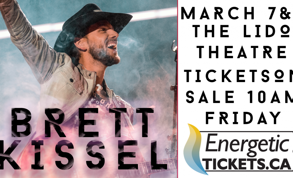 Brett Kissel in Fort St. John March 7