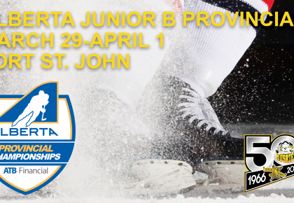 Huskies hosting Junior B Provincials – tickets on sale NOW!