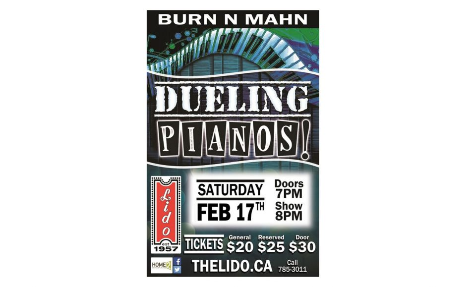 DUELING PIANOS FT BRIAN BURN AND JAMIE MAHN