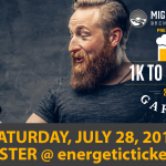 1K to a Beer Garden – presented by Mighty Peace Brewing