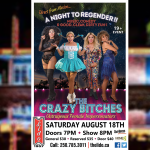 Crazy Bitches show returns to the Lido