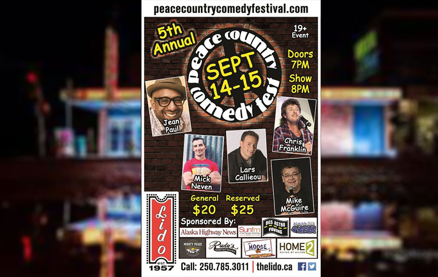 5TH ANNUAL PEACE COUNTRY COMEDY FEST